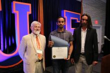Kalak Reddy, postdoc, wins the oral presentation at the 2017 Drug Discovery Symposium