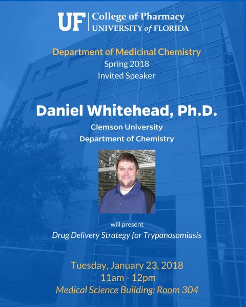 Seminar Announcement, David Whitehead, Ph.D.