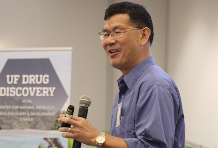 Dr. Ben Shen presents at the UF Drug Discovery Symposium