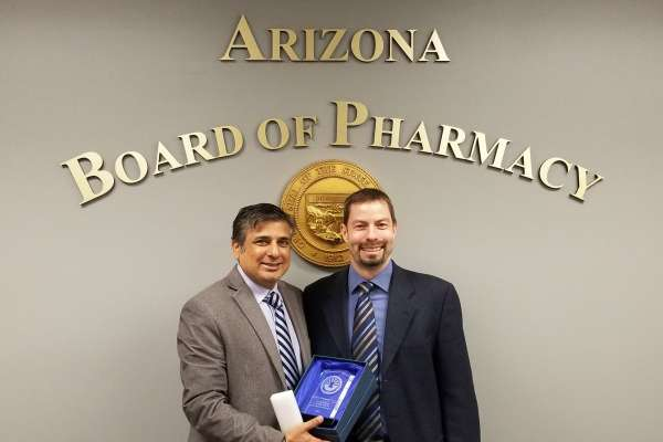 Oliver Grundmann - Arizona Board of Pharmacy