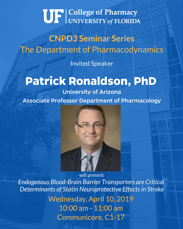 Seminar Announcement_ Med Chem, Patrick Ronaldson (1)