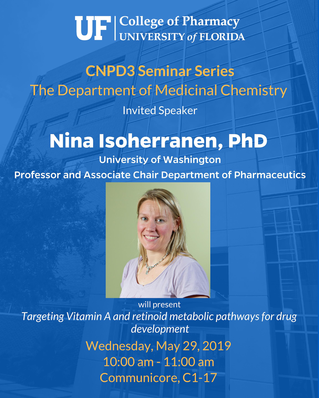 Seminar Announcement_ Med Chem, Nina