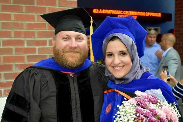 YASMEEN ABOUELHASSAN WITH DR. HUIGENS, 2018
