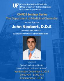 John Neubert seminar information
