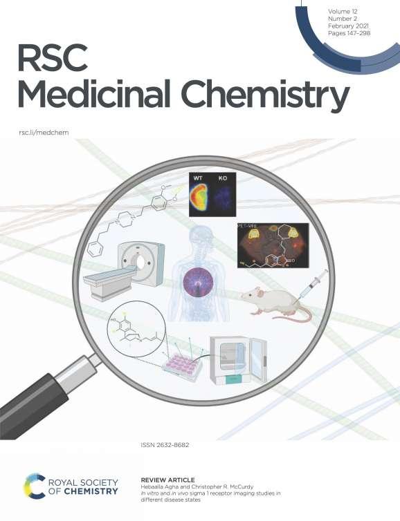 RSC Medicinal Chemistry Cover Feb. 2021
