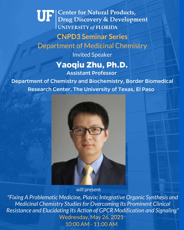 CNPD3 Seminar - Yaoqiu Zhu